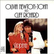Click here for more info about 'Olivia Newton John - Suddenly - Pic Sleeve'