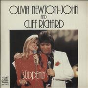 Click here for more info about 'Olivia Newton John - Suddenly - Promo Stickered & Pic Sleeve'