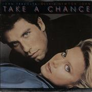 Click here for more info about 'Olivia Newton John - Take A Chance - Factory Sample'