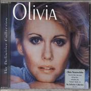 Olivia Newton John The Definitive Collection UK CD album