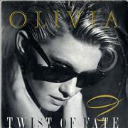 Click here for more info about 'Olivia Newton John - Twist Of Fate - 4pr'