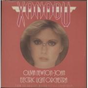 """Olivia Newton John Xanadu - Pink Vinyl UK 10"""" vinyl"""
