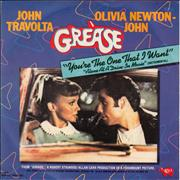 Click here for more info about 'Olivia Newton John - You're The One That I Want - P/S'