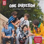 Click here for more info about 'Live While We're Young - Autographed'