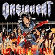 Click here for more info about 'Onslaught - Let There Be Rock + Poster'