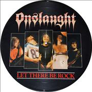 Click here for more info about 'Onslaught - Let There Be Rock'