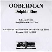 Click here for more info about 'Ooberman - Dolphin Blue'
