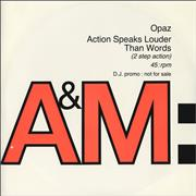 Click here for more info about 'Opaz - Action Speaks Louder Than Words'