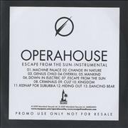 Click here for more info about 'Operahouse - Escape From The Sun - Instrumental'