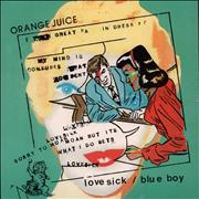 Click here for more info about 'Orange Juice - Blue Boy / Lovesick'