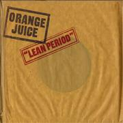 Click here for more info about 'Orange Juice - Lean Period'