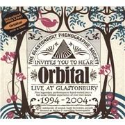 Orbital Live At Glastonbury 1994 - 2004 UK 3-disc CD/DVD Set
