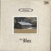 "Orbital The Box UK 12"" vinyl"