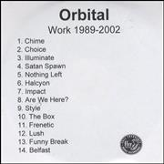 Click here for more info about 'Orbital - Work'