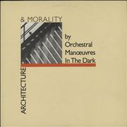 Click here for more info about 'Orchestral Manoeuvres In The Dark - Architecture & Morality - Cream Die-Cut + Insert'
