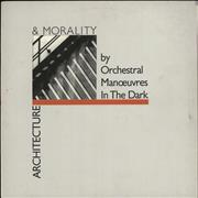 Click here for more info about 'Orchestral Manoeuvres In The Dark - Architecture & Morality - Grey Sleeve'
