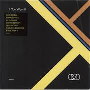 Click here for more info about 'Orchestral Manoeuvres In The Dark - If You Want It - Yellow Vinyl'
