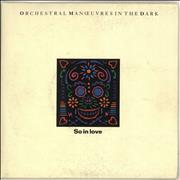 Click here for more info about 'Orchestral Manoeuvres In The Dark - So In Love - Double Pack'
