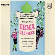 Click here for more info about 'Original Cast Recording - Excerpts From Irma La Douce EP'
