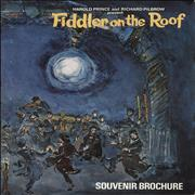 Click here for more info about 'Original Cast Recording - Fiddler On The Roof - 1st Stereo + Brochure'
