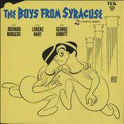 Click here for more info about 'Original Cast Recording - The Boys From Syracuse - Original London Cast'