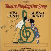 Click here for more info about 'Original Cast Recording - They're Playing Our Song - Autographed'
