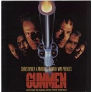 Original Soundtrack Gunmen UK vinyl LP