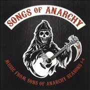 Click here for more info about 'Original Soundtrack - Songs of Anarchy: Music From Sons of Anarchy Seasons 1-4 - Clear vinyl'