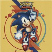 Click here for more info about 'Original Soundtrack - Sonic Mania - Clear With Blue, Red, Orange & Yellow Splatter Vinyl'