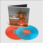 Click here for more info about 'The Outsiders - Turquoise & Neon Orange Vinyl'