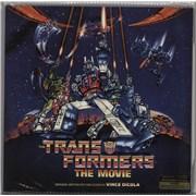 Original Soundtrack The Transformers: The Movie - 180gm USA 2-LP vinyl set
