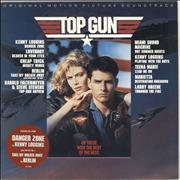 Click here for more info about 'Original Soundtrack - Top Gun - Gold promo stamped'
