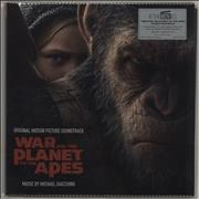 Click here for more info about 'Original Soundtrack - War For The Planet Of The Apes - 180gram Red Vinyl + Numbered Sleeve'
