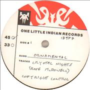 Click here for more info about 'Ornamental - Crystal Nights - Test Pressing'