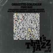 Ornette Coleman Free Jazz Germany vinyl LP