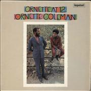 Ornette Coleman Ornette At 12 - EX UK vinyl LP