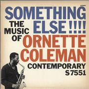 Ornette Coleman Something Else!!!! USA vinyl LP