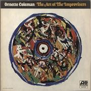 Ornette Coleman The Art Of The Improvisers UK vinyl LP