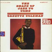 Ornette Coleman The Shape Of Jazz To Come USA vinyl LP