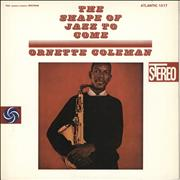 Ornette Coleman The Shape Of Jazz To Come Japan vinyl LP