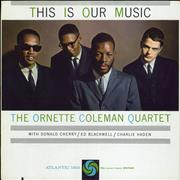 Ornette Coleman This Is Our Music USA vinyl LP