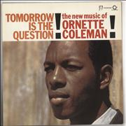 Ornette Coleman Tomorrow Is The Question! UK vinyl LP