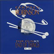 Click here for more info about 'Orphy Robinson - The Funky End Of Things - Blue Vinyl'
