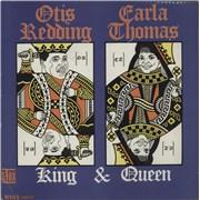 Otis Redding King & Queen UK vinyl LP