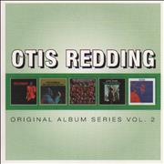 Otis Redding Original Album Series Vol. 2 UK 5-CD set