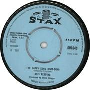 "Otis Redding The Happy Song (Dum-Dum) - 4pr UK 7"" vinyl"