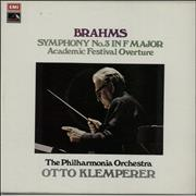 Click here for more info about 'Otto Klemperer - Brahms: Symphony No. 3 In F Major/ Academic Festival Overture'