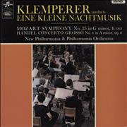 Click here for more info about 'Otto Klemperer - Eine Kleine Nachtmusik / Symphony No. 25 In G Minor, K. 183 / Concerto Grosso No. 4 In A Minor, Op.'