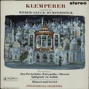 Click here for more info about 'Otto Klemperer - Klemperer Conducts Weber, Gluck Overtures - 1st'