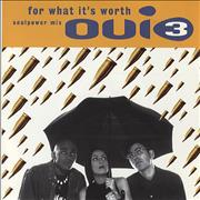 Click here for more info about 'Oui 3 - For What It's Worth (Soulpower Mix)'